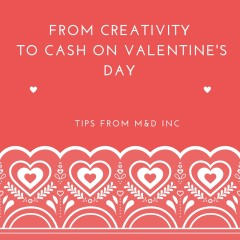 Start a Personalized Valentine's Day Card Business with your Daughter