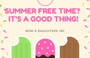 No plans this summer?  Free time IS good!