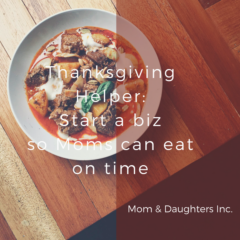 Thanksgiving Helper: Help Moms eat their turkey on time