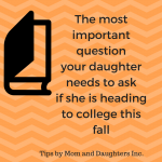 Stop worrying about the bedsheets and stress over this if your daughter is moving to college this fall