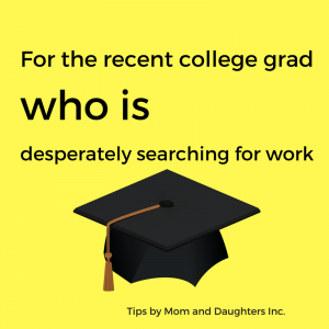 Because it's good to understand how the employer makes decisions about hiring recent college grads