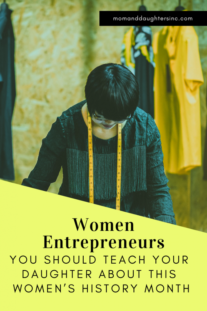 Here is a short list of a few women of color entrepreneurs at top of their respective fields. I hope it inspires your daughter to think big and take action.