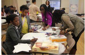 young women learn entrepreneurship