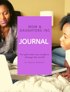 This journal is designed to help young girls develop their entrepreneurial mindset.