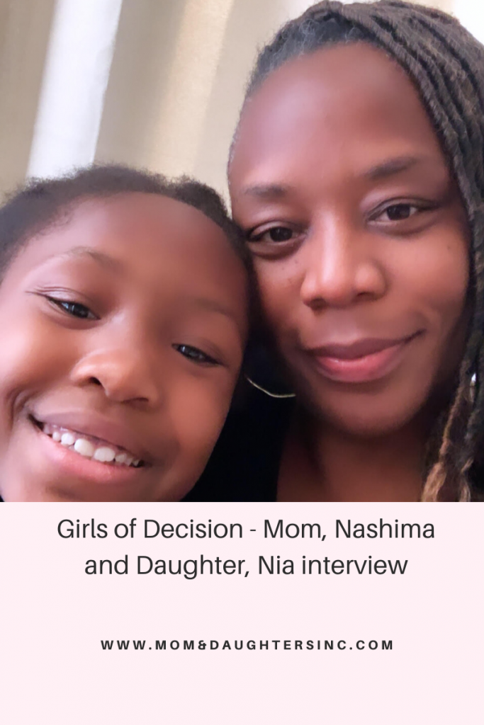 Girls of Decision - Nashima and Nia interview
